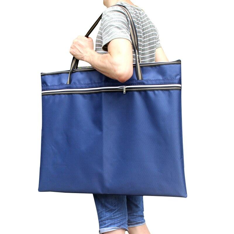 A2 A3 Fabrics Document Bag,  Sketch Board 8k Design Draft Drawing Portable Paper Bag