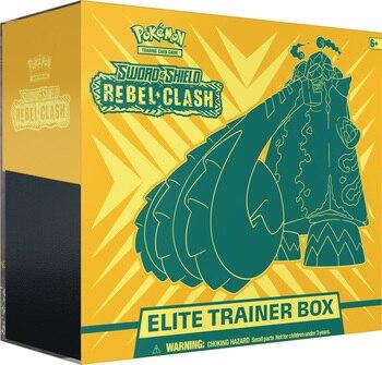 Pokemon TCG: Sword & Shield-Rebel Clash Elite Trainer Box 3