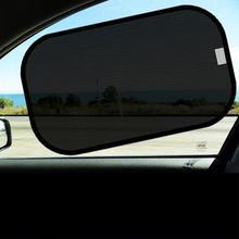 цена на 2/4pcs UV Protection Sun Visor Window Screen Sun Shade Cover Visor Front Rear Side Curtain Car Styling Cover Sunshade