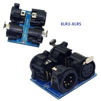 Led CH dmx512 dimmer decoder controller terminal adapter 5 core XLR to 3 core XLR, ADDR2,RJ45-3P, XLR5-3P g20n60rufd sgh20n60rufd to 3p