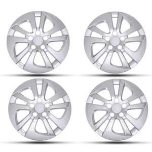 Крышки автомобильных колес Hubcap, серебристые колпачки для ступицы Toyota Prius 2016 2017, автомобильные аксессуары, 4 шт./1 шт.