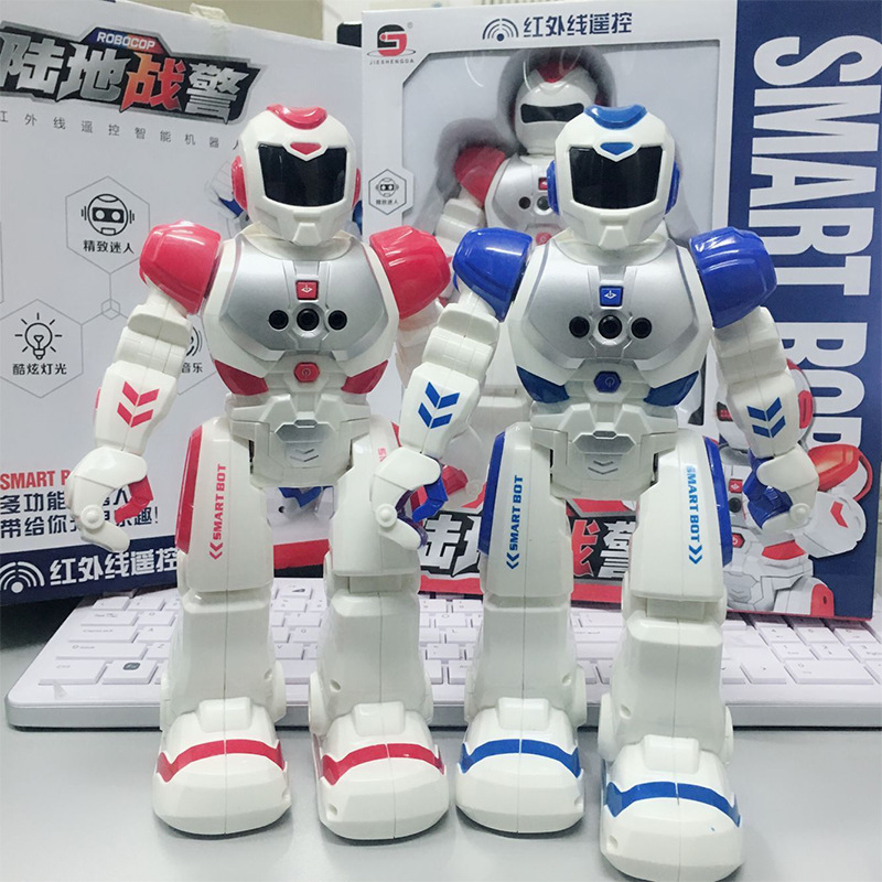 Electric Remote Control Smart Robot Toy Children'S Educational Early Childhood Robot Toys Boy