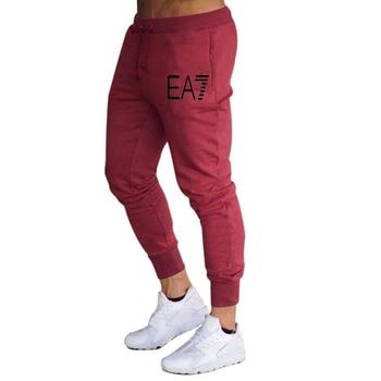 2020 New hot sale men's casual sports pants fashion foot casual pants men's jogging fitness pants gym sports - XXXL, 3