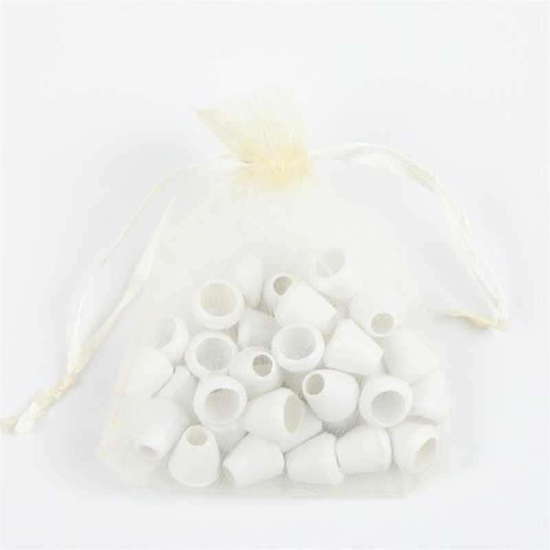 10 unids/lote bolsas de regalo de Organza boda cumpleaños fiesta bolsas de chocolate dulces regalo de Navidad y Halloween caja de bolsas de embalaje