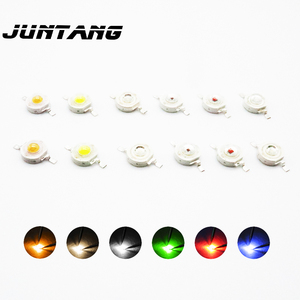 Image 2 - 100pcs High power LED chip cree led lamp beads 1W led lamp beads 3W led5W led white red green blue yellow full color lamp beads