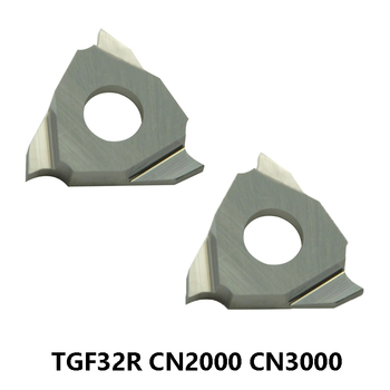 KORLOY Grooving Cutter Insert TGF32 TGF32R TGF32R075 TGF32R100 TGF32R150 TGF32R200 TGF32R250 TGF32R300 010 R010 CNC Lathe Tools