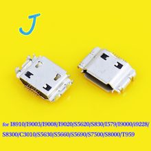 Micro USB Jack connector for Samsung I8910/I9000/I9003/I9008/I9020/S5620/S5630/S5660/S5690/T959 charging connector Port(China)