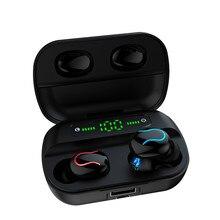 Q82 Led Wireless Bluetooth 5.0 Earphones TWS Handfree Music Stereo Headsets Earb
