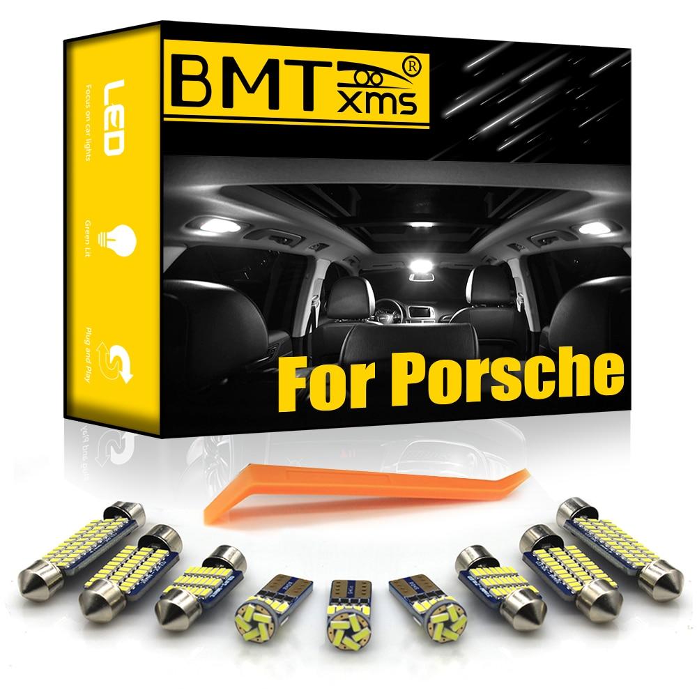 BMTxms para Porsche Panamera 970 Cayenne 9PA 92A 996 997 Boxster 986, 987 de 981 Macan 95B Caimán 987 981 Canbus LED lámpara de Interior