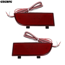 2pcs LED Shocks Rear Bumper Reflector Spotlight Fog Tail Brake Lights For Mercedes Benz Vito Viano W639 2003-2014
