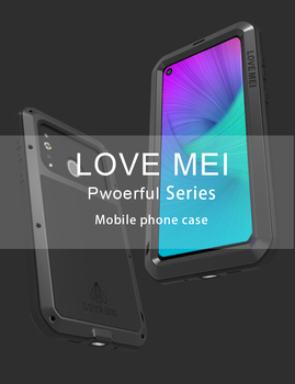 Love Mei Metal Armor Case For Samsung Galaxy A8S 360 Full Body Shockproof Rugged Protective Phone Cover For Samsung Galaxy A8S фото