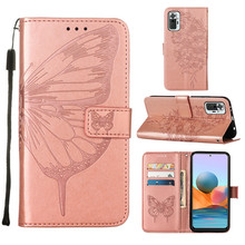 Phone Case For Redmi Note 10 Pro Case Leather butterfly Wallet Case On Xiaomi Redmi Note 10 Pro Cases Flip Cover Redmi Note 10S