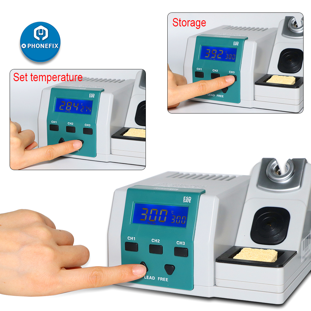 SUGON T26 Soldering Station Electric Soldering Iron 2 Second Rapid Heating Up Support JBC Welding Tips 80W Power Heating System