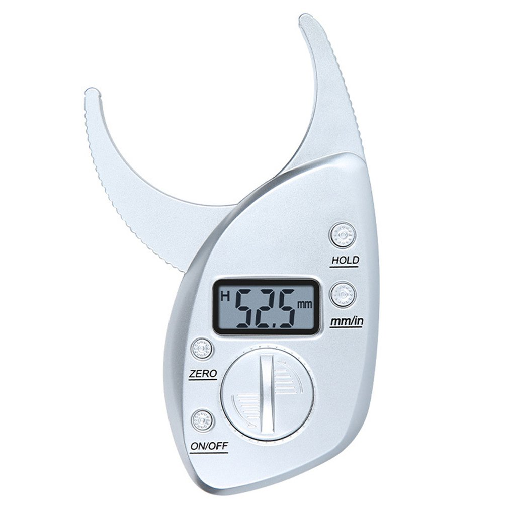 Body Fat Measurement Testing Caliper Digital Fat Caliper Clamp Weight Loss Test Fat Thickness Measurement