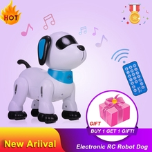 Dog-Toy Voice-Control Robot Stunt Kids Electronic NENG for Birthday-Gift K21