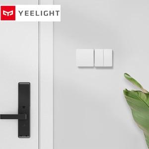 Image 3 - Mijia Yeelight Slisaon interrupteur mural ouvert double interrupteur de commande 2 Modes commutateur flexible sur interrupteur de lampe Intelligent