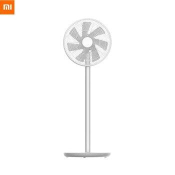 2020 New Xiaomi smartmi Smart Floor Fan 2 / 2S Dc Inverter Vertical AI Voice Mijia App Home Family Natural Wind
