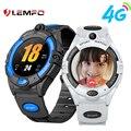LEMFO Kinder Smart Uhr 4G GPS Video Anruf Wifi verwenden Sim-karte Smartwatch Für Kinder Baby Mädchen Jungen 680mAH Große Batterie Geschenk