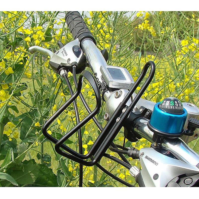 HK MTB Bike Bicycle Water Bottle Cage Holder Seat Post Mount Alloy Rack Bracket