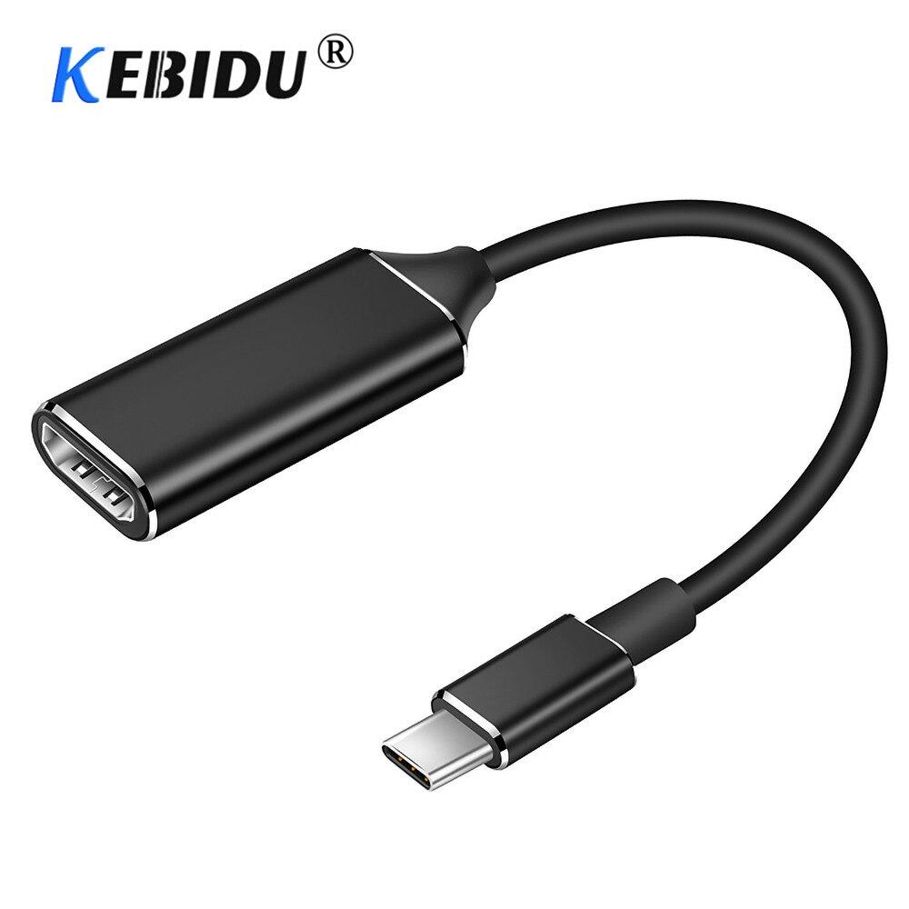 4K 30Hz USB C к HDMI-адаптеру, кабель Type C HDMI для MacBook Samsung Galaxy S10 Huawei Mate P20 Pro, адаптер HDMI