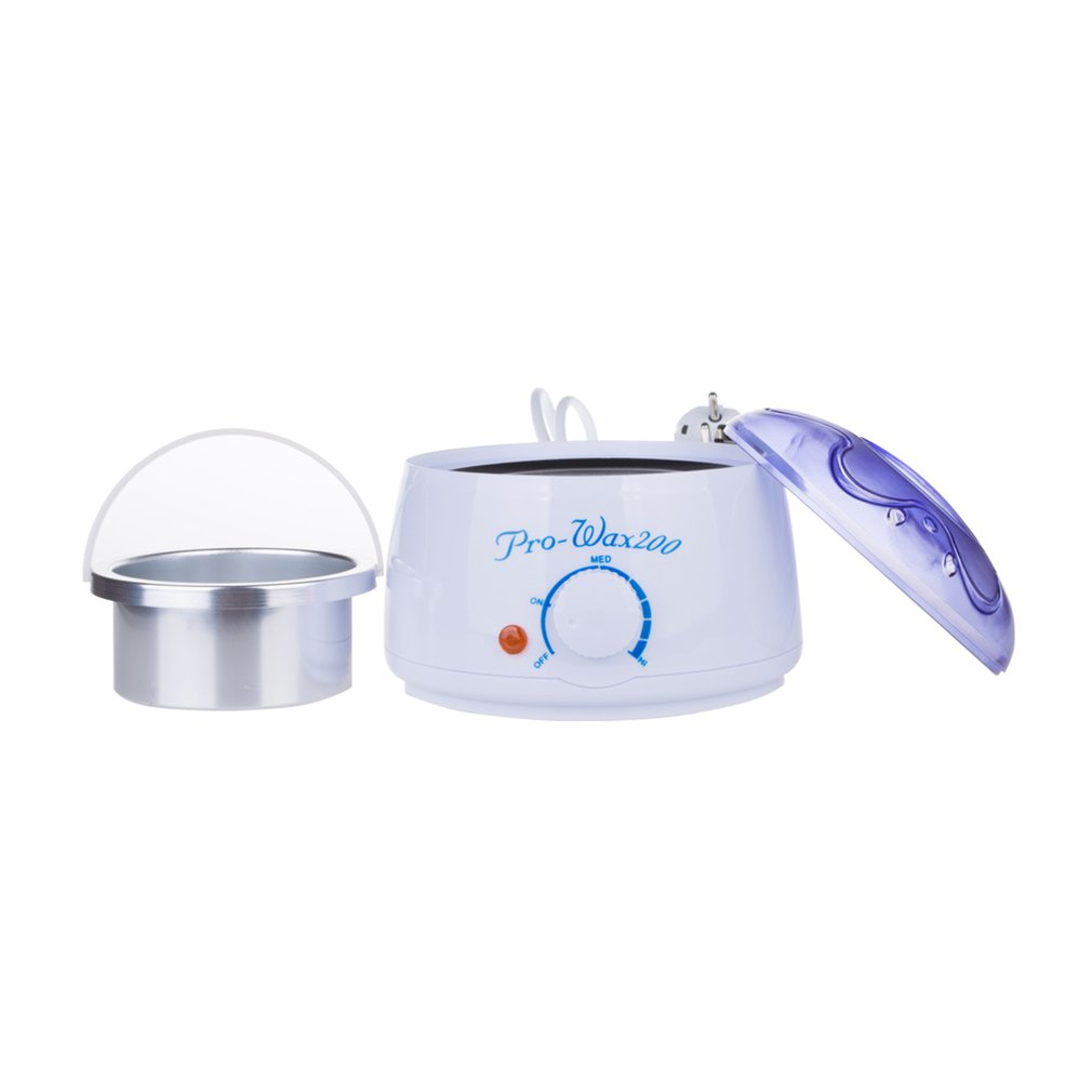 200CC Hand Wax Machine Hot Paraffin Wax Warmer Heater Body Depilatory Salon SPA Hair Removal Tool With Wax