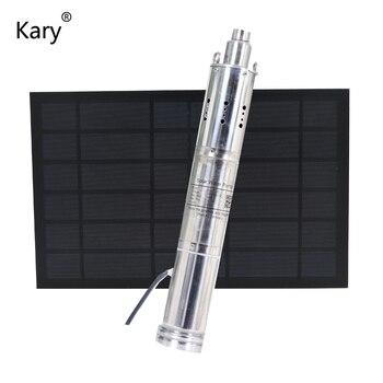 Kary 24 voltios bombas solares 3000L/H max lift 90m bomba de agua de riego precio solar bombas de piscina