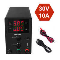 3/4 Digital Display Voltage Regulated Power Supplies current regulator Adjustable DC Laboratory Switching Power Supply 120V 3A