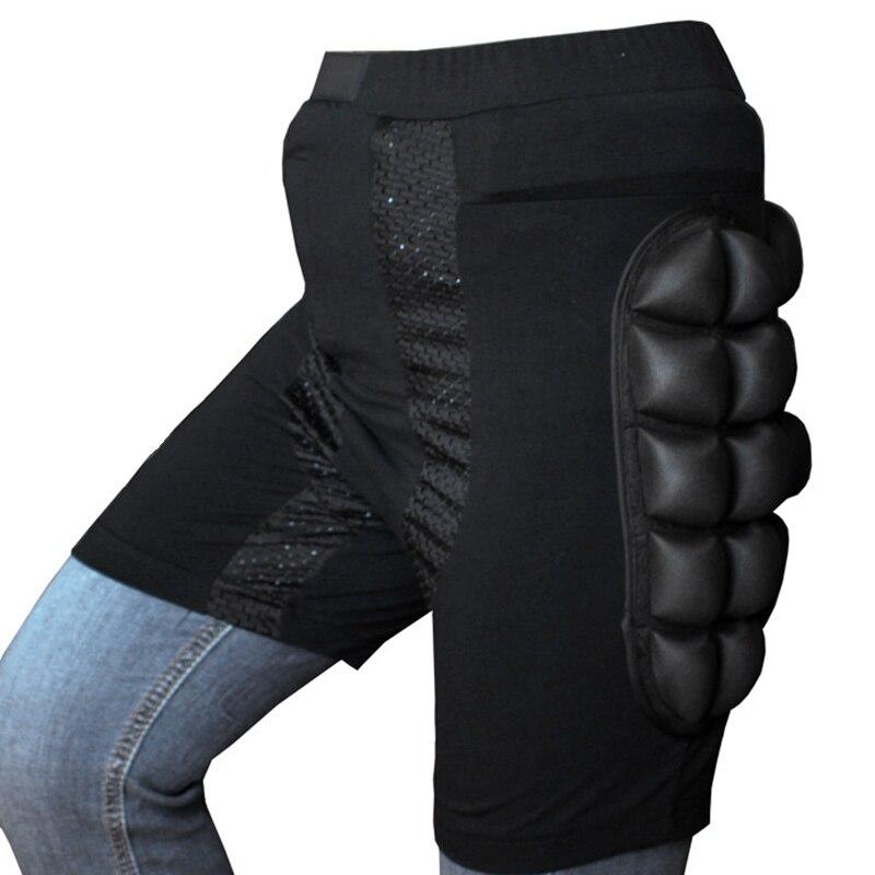 S-xxxl мягкие Лыжные Сноуборд бедра ягодицы защитные штаны шорты протектор снаряжение дети защита для бедер
