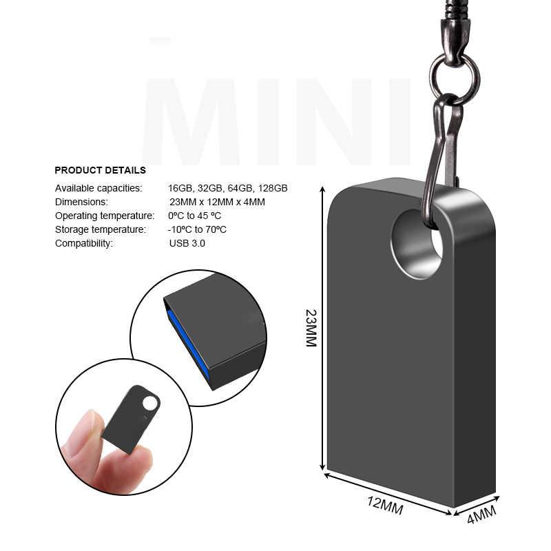 Mini Pen Drive 64 Gb High Speed Pendrive 32 Gb Usb Flash Drive 8 Gb Key Usb Stick 16 Gb flash Geheugen Usb Flash Disk Type-C Adapter