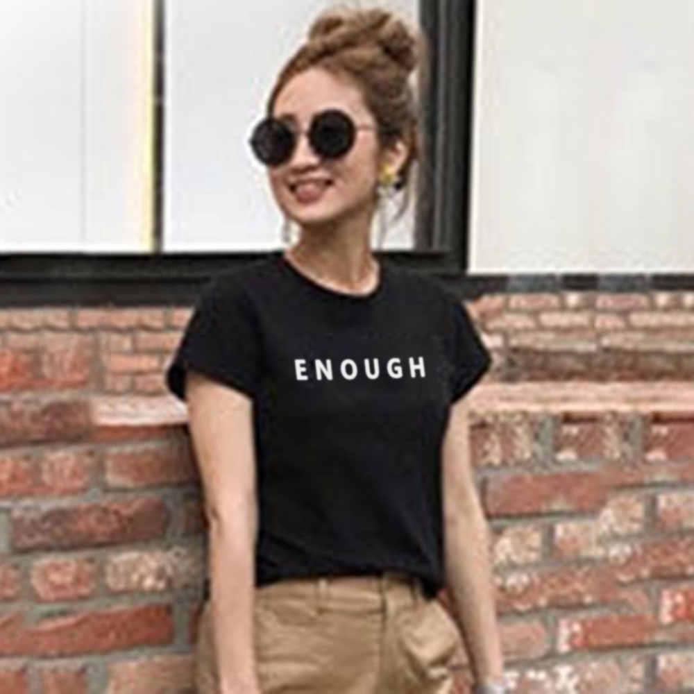 블랙 화이트 T 셔츠 여성 톱 티 솔리드 알파벳 편지 짧은 소매 간단한 숙녀 패션 여름 루스 캐주얼 티셔츠 한국