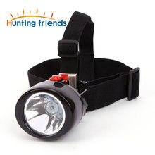 Jagd Freunde Drahtlose Bergbau Licht KL 3,0 LM Wasserdicht LED Scheinwerfer Explosion Rroof Kappe Lampe Wiederaufladbare Bergbau Scheinwerfer