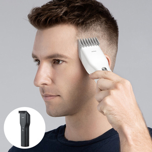 Image 2 - In Stock Rechargeable Hair Trimmer Hair Clipper USB Two Speed Ceramic Cutter Hair Children Adult Hair Clipper