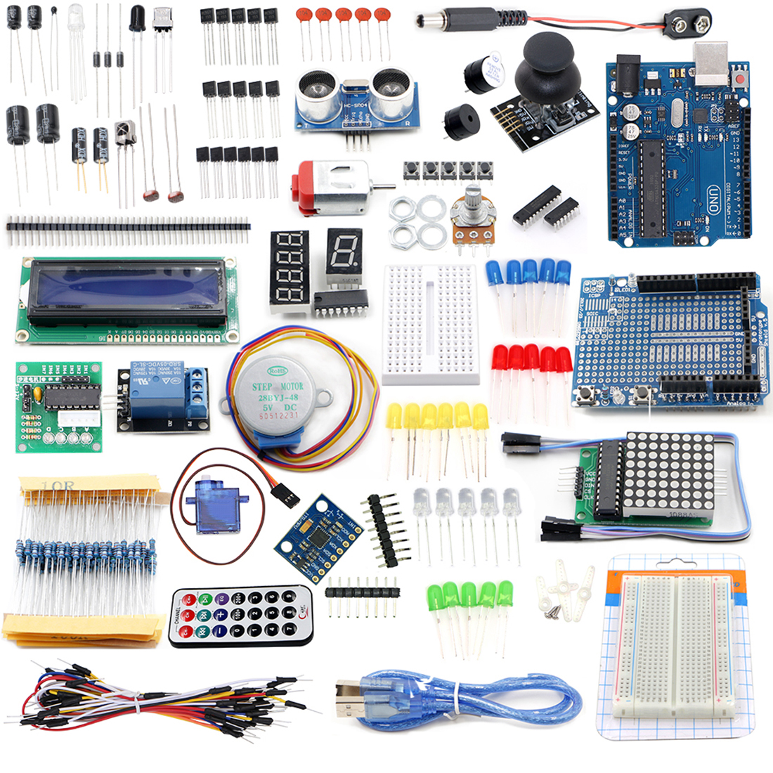 R3 Starter Learning Set For Arduino - US Plug