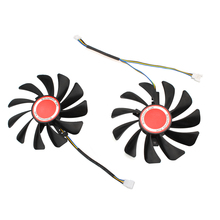 2PCS/lot 95MM Cooler Fan Replace For XFX AMD Radeon RX 580 584 588 RX580 RX584 RX588 Graphics Card Cooling Fan