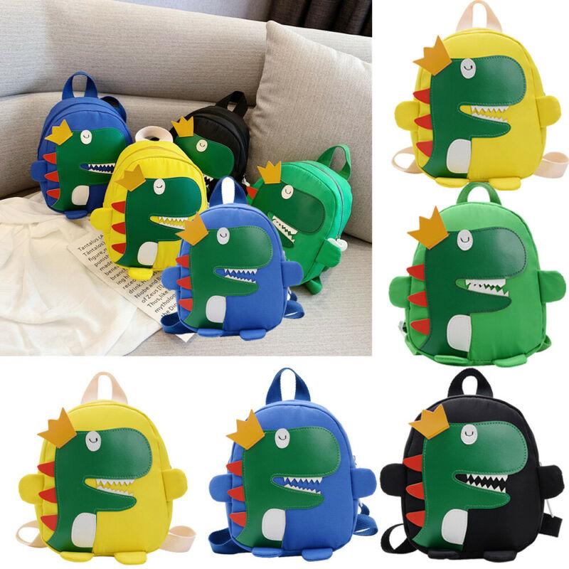 Cute toddler kid kindergarten school bag 3D cartoon dinosaur mini backpack new baby boy girl school bag 6