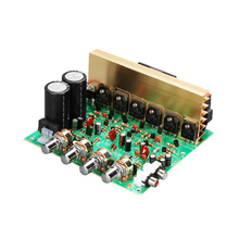 High Power Audio Amplifier Board 2.1 Channel 240W Subwoofer Amplifiers Board Dual AC18-24V DIY Stereo Amp For HIFI Home Speaker aiyima tube amplifiers audio board diy kits a1943 c5200 dual ac12 28v high power amplifier board stereo hifi tube fever level