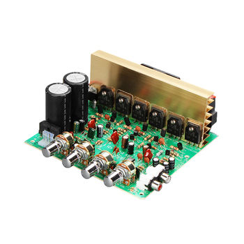 цена на High Power Audio Amplifier Board 2.1 Channel 240W Subwoofer Amplifiers Board Dual AC18-24V DIY Stereo Amp For HIFI Home Speaker