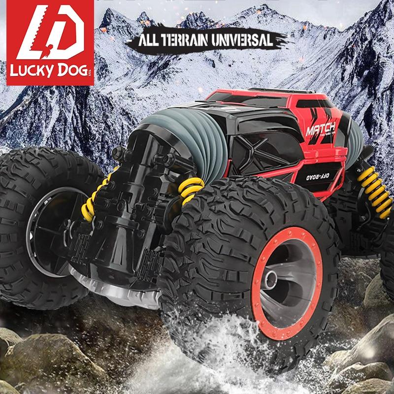 Transformer RC รถ 2.4G 4WD Off Road รถบรรทุกความเร็วสูงปีนเขา Monster รถเครื่องวิทยุควบคุมของเล่นสำหรับชาย-ใน รถ RC จาก ของเล่นและงานอดิเรก บน   1