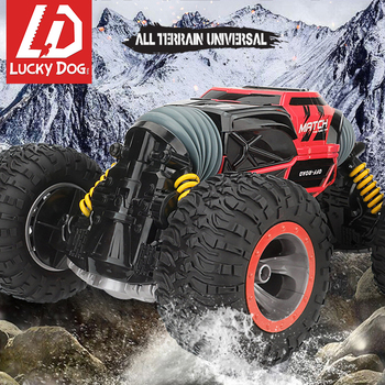 Transformer RC Car 2.4G 4WD Off Road Truck High Speed Racing Climbing Monster Car Machine radio control Toys for Boys free shipping rovan bm305 car big monster 4wd 30 5cc powerful engine