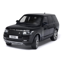 MagicKit 1:18 Scale Diecast LCD Model Car Land Rover Range Rover SUV Metal ClassicToy Car Alloy For Kids Toys Gift Collection new arrival gift pnmr 1 18 large metal model car sport drive model scale alloy collection vehicle toys car pro fans show