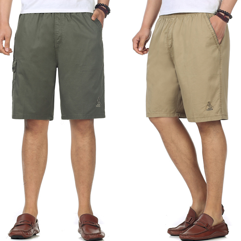 Summer Middle-aged MEN'S Shorts Daddy Clothes 40-Year-Old 50 Loose-Fit Middle Aged And Elderly People New Style Shorts Summer