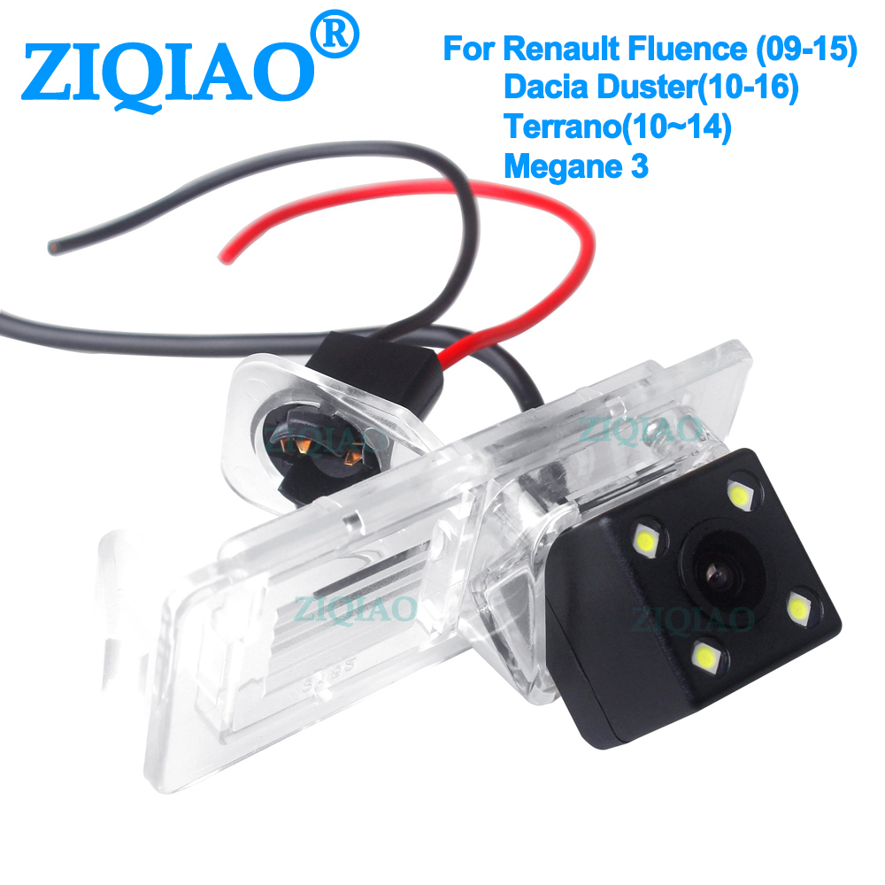 ZIQIAO Rear View Reverse Camera Parking System For Renault Fluence 09-15 Dacia Duster 10-16 Megane 3 Terrano 10-14 HS013