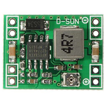 100PCS Ultra-Small Format DC-DC Step Down Power Supply Module 3A Adjustable Buck Converter for Arduino Replace LM2596