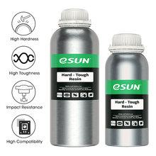 Resina resistente uv 405nm do abs-como da resina do lcd da resina da impressora 3d de esun para a cura uv uv do fotão do líquido 3dresin do fotopolímero da impressora do lcd 3d 1kg