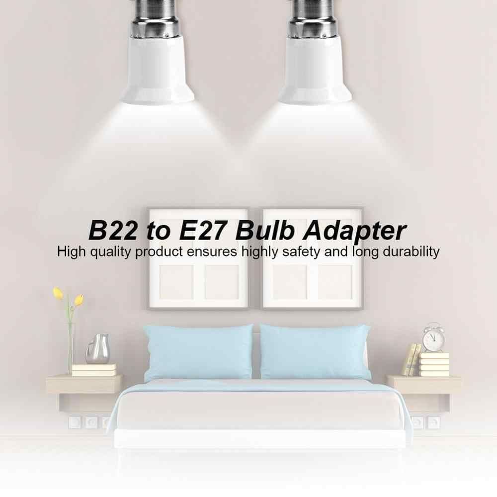 5 шт. ламповый адаптер B22 к E27 ламповый держатель ламповый разъем сплиттер адаптер светильник база для светодиодный лампы