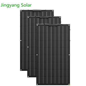 Image 2 - 400W Etfe Flexible Solar Panel 4PCS of 100W Panel Solar Monocrystalline Solar Cell For 12v/24v Solar Battery Charge 200W 300W