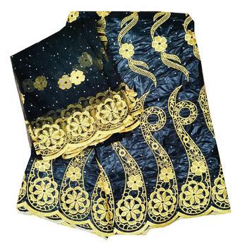 7yard/set bazin riche getzner 2020 new design bazin riche fabric tissu african bazin lace with embroidery and stone ba444