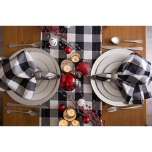 Check Oversized Basic Cloth Napkin for Everyday Place Settings, Farmhouse Decor, Family Dinners, BBQ's, and Holidays (20X20-Inch(China)