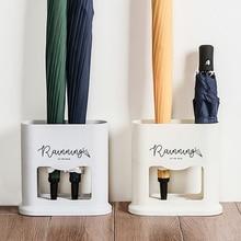 Креативная стойка для зонта, овальная стойка для зонта, органайзер для хранения зонта, держатель для хранения, 4 отверстия, Декор для дома и офиса