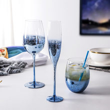 Crystal wine glass, creative champagne, crystal wine glass cup set
